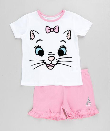 Pijama-Infantil-Marie-Manga-Curta-Off-White-9876984-Off_White_1