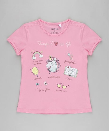 Blusa-Infantil--Unicorns--Manga-Curta-Rosa-9911940-Rosa_1
