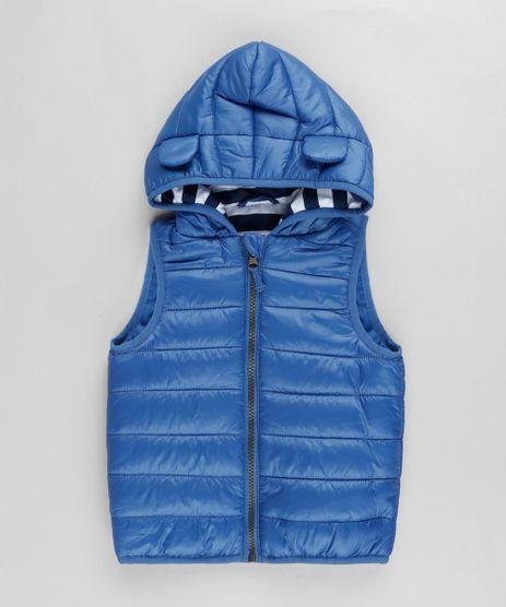 Colete-Infantil-Puffer-com-Capuz-e-Orelhas-Azul-Escuro-9781012-Azul_Escuro_1