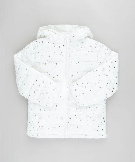 Jaqueta-Infantil-Puffer-Estampada-de-Estrelas-com-Capuz-e-Bolsos-Off-White-9785451-Off_White_1