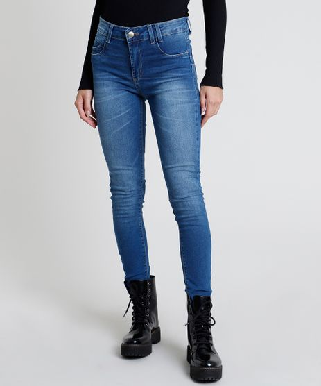 Calca-Jeans-Feminina-Sawary-Super-Skinny-Cintura-Alta-Azul-Medio-9896003-Azul_Medio_1
