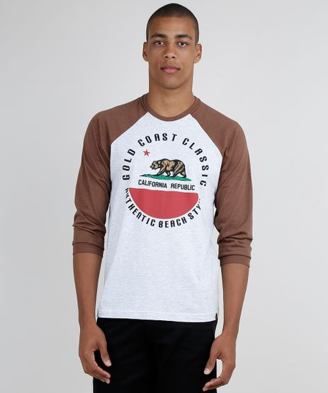 Camiseta-Masculina--California-Republic--Raglan-Manga-Longa-Gola-Careca--Cinza-Mescla-9871263-Cinza_Mescla_1