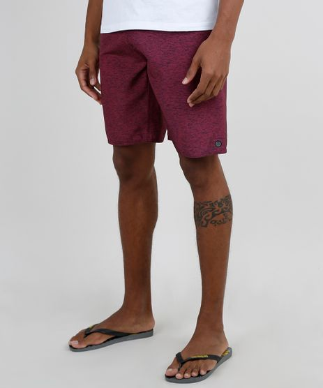 Bermuda-Surf-Masculina-Mescla-com-Bolso-Vinho-9943461-Vinho_1