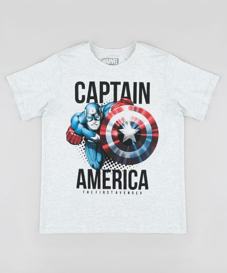 Camiseta-Infantil-Capitao-America-Manga-Curta-Cinza-Mescla-Claro-9873470-Cinza_Mescla_Claro_1