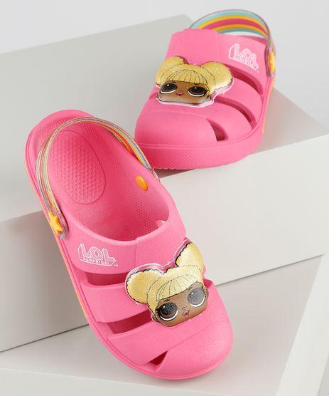 Babuche-Infantil-LOL-Surprise-com-Brilho-Rosa-9914158-Rosa_1