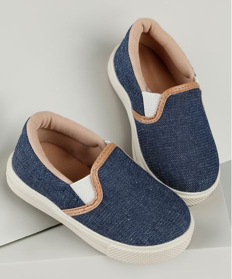 Tenis-Jeans-Infantil-Baby-Club-Slip-On-Azul-Escuro-9785685-Azul_Escuro_1