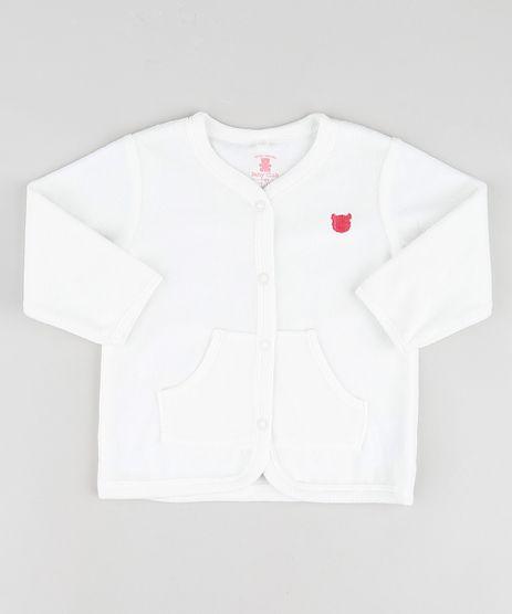Cardigan-Infantil-em-Plush-com-Bolsos-e-Bordado--Off-White-9688486-Off_White_1