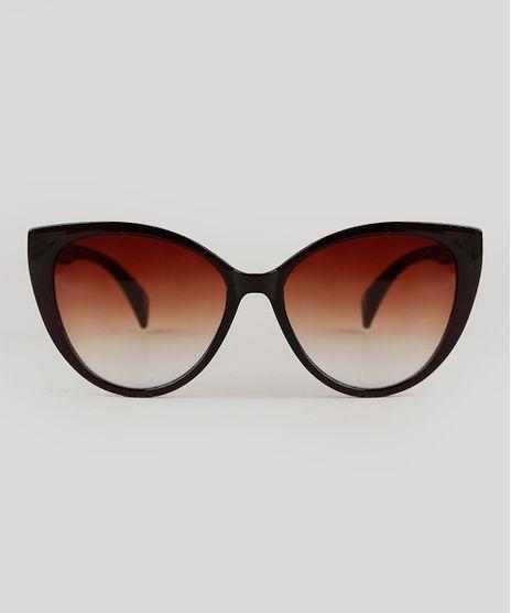 Oculos-de-Sol-Gatinho-Feminino-Yessica-Marrom-9704755-Marrom_1