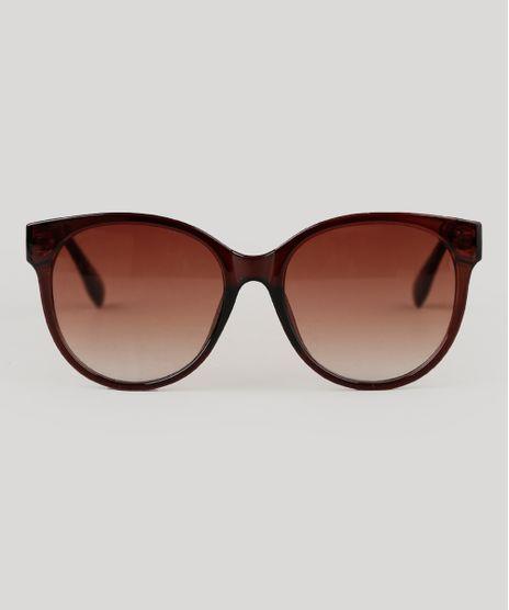 Oculos-de-Sol-Redondo-Feminino-Yessica-Marrom-9942284-Marrom_1