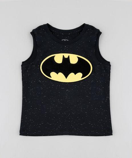 Regata-Infantil-Batman-Botone-Preta-9865805-Preto_1