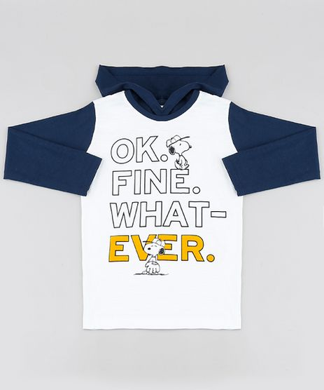 Camiseta-Infantil-Snoopy-e-Charlie-Brown-com-Capuz-Manga-Longa-Off-White-9876154-Off_White_1