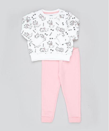 Conjunto-Infantil-Marie-de-Blusao-Estampado-em-Moletom-Branco---Calca-Rosa-9885326-Rosa_1