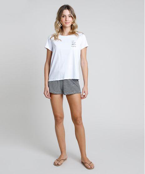 Pijama-Feminino--Repeat--Manga-Curta-Branco-9858808-Branco_1