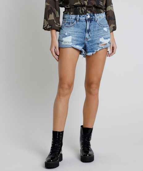 Short-Jeans-Feminino-Boy-Cintura-Media-Destroyed-Barra-Desfiada-Azul-Medio-9913136-Azul_Medio_1