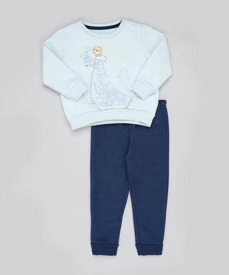Conjunto-Infantil-Elsa-Frozen-de-Blusao-em-Moletom-Verde---Calca-Azul-Marinho-9890128-Azul_Marinho_1