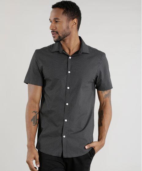Camisa-Comfort-Estampada-Preta-8456847-Preto_1
