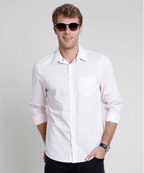Camisa-Masculina-Comfort-Estampada-Mini-Print-Geometrica-com-Bolso-Manga-Longa--Rosa-Claro-1-9831774-Rosa_Claro_1_1