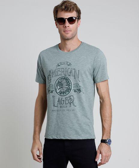 Camiseta-Masculina--American-Lager--Manga-Curta-Gola-Careca-Verde-9870293-Verde_1