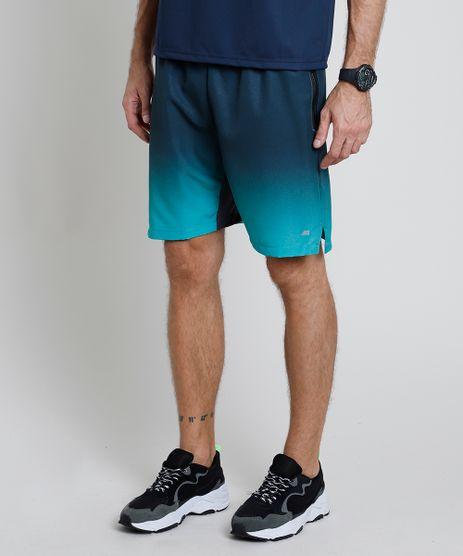 Bermuda-Masculina-Esportiva-Ace-com-Degrade-e-Bolsos-Verde-Escuro-9865529-Verde_Escuro_1