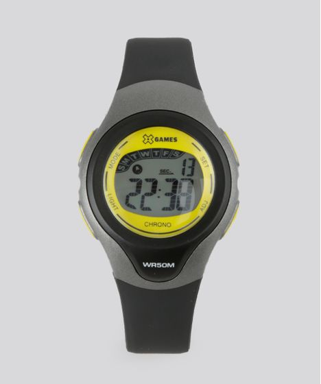 15b78395b3e Relógio Digital X-Games Feminino - XKPPD032 Cinza - cea