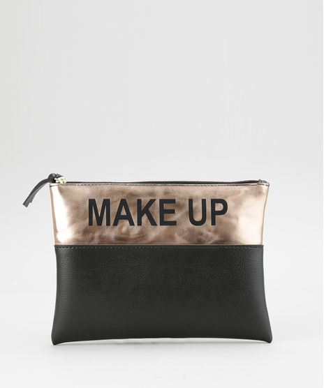 Necessaire--Make-UP--Metalizada-Preta-8617097-Preto_1