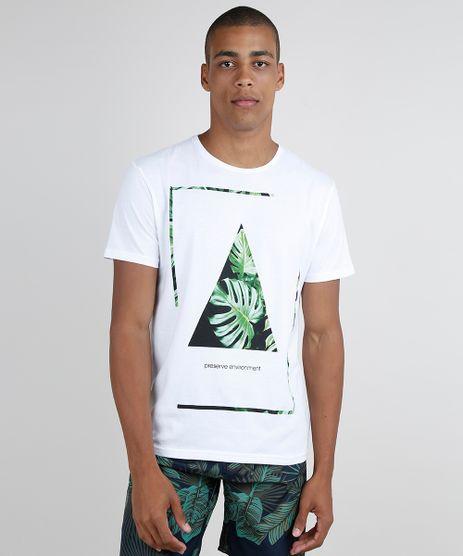 Camiseta-Masculina--Preserve--Geometrico-Manga-Curta-Gola-Careca-Off-White-9858409-Off_White_1