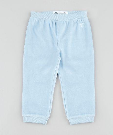 Calca-Infantil-Basica-em-Plush-Azul-Claro-9688480-Azul_Claro_1