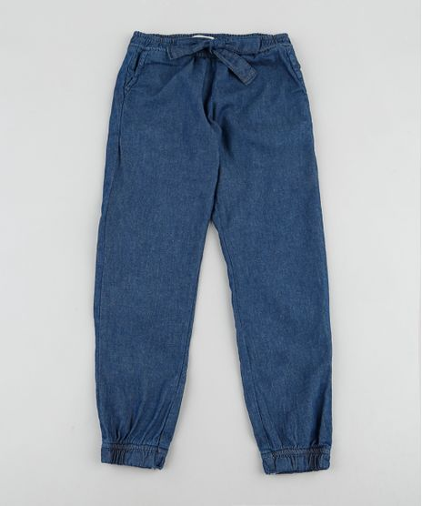 Calca-Jeans-Infantil-Clochard-com-Laco-Azul-Escuro-9935384-Azul_Escuro_1