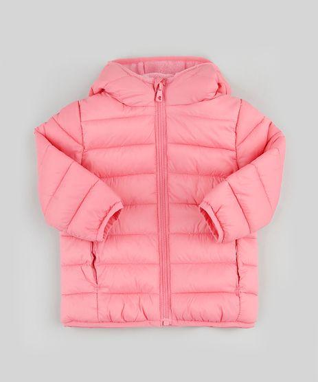 Jaqueta-Puffer-Infantil-em-Nylon-com-Capuz-e-Bolsos-Rosa-9784737-Rosa_1