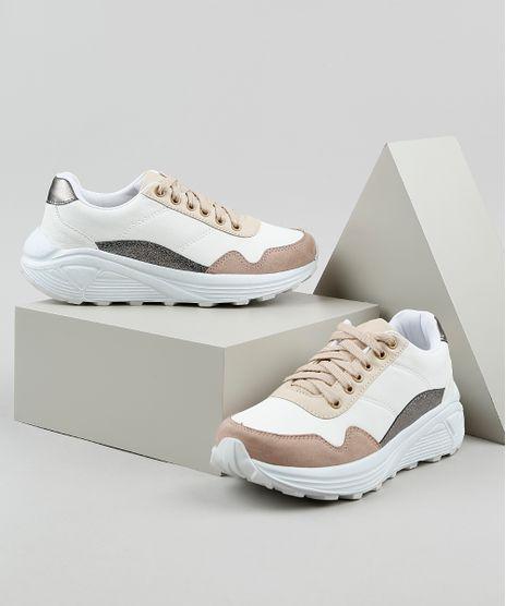 Tenis-Feminino-Oneself-Sneaker-Chunky-com-Recortes-Off-White-9828173-Off_White_1