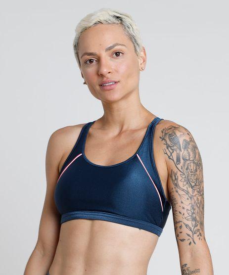 Top-Feminino-BBB-Esportivo-Ace-com-Vivo-Contrastante-e-Bojo-Removivel-Decote-Nadador-Protecao-UV50--Azul-Marinho-9803538-Azul_Marinho_1