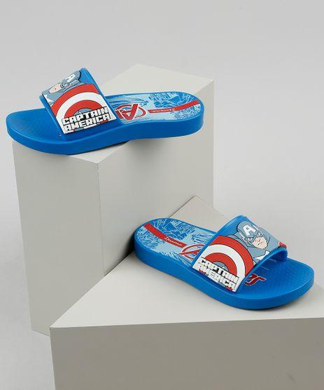 Chinelo-Slide-Infantil-Ipanema-Capitao-America-Estampado-Azul-9925103-Azul_1