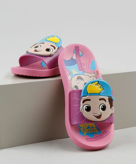 Chinelo-Slide-Infantil-Ipanema-Luccas-Neto-Estampado-Rosa-9925106-Rosa_1