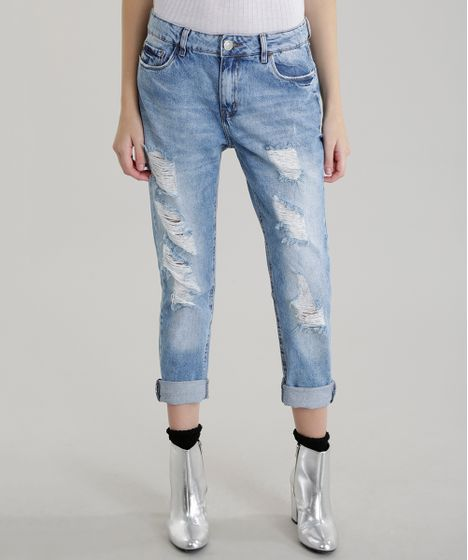1e8569964 Calca-Jeans-Boyfriend-Azul-Claro-8605727-Azul Claro 1 ...