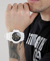 543864cc1a9 Relógio Digital X-Games Masculino - XMPPA187 BXBX Branco ...