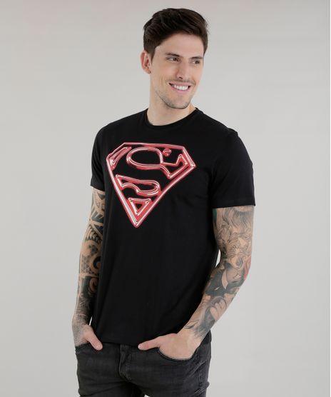 3f8e27714 Camiseta-Super-Homem-Preta-8577662-Preto 1