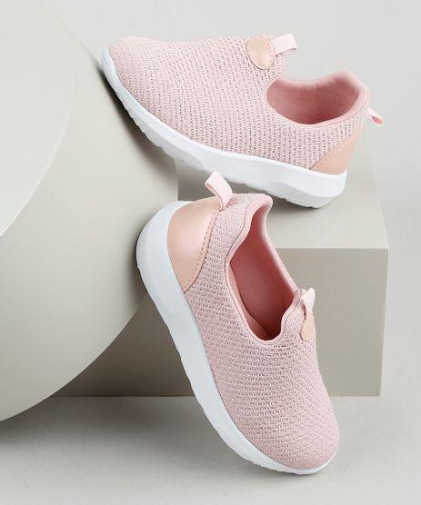Tenis-Infantil-Baby-Club-Running-Knit-Sem-Cadarco-Rosa-Claro-9905906-Rosa_Claro_1