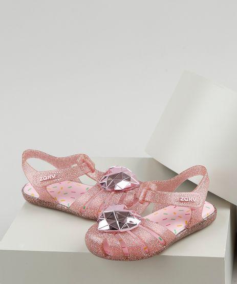 Sandalia-Infantil-Zaxy-Nina-Cafune-Sand-Baby-com-Glitter-e-Coracao-Rosa-9936497-Rosa_1
