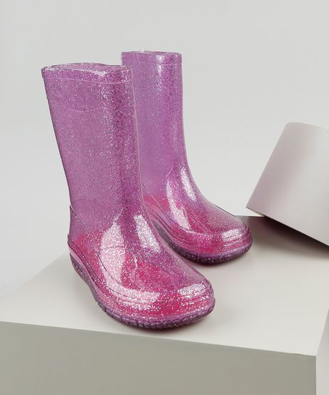 Bota-Galocha-Infantil-Palomino-Transparente-com-Glitter-Rosa-9911303-Rosa_1