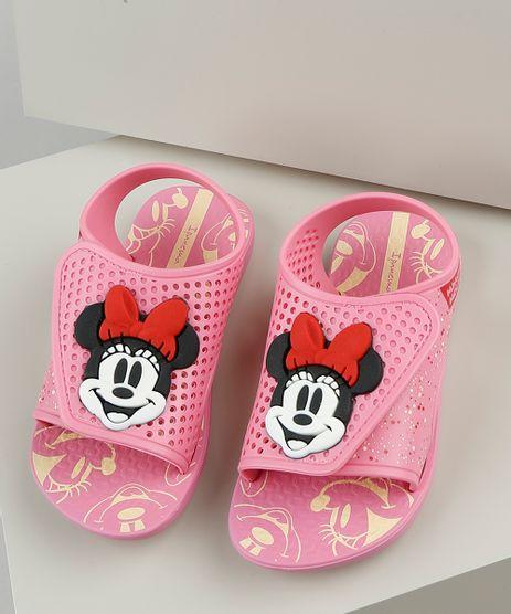 Sandalia-Infantil-Ipanema-Minnie-Momentos-Disney-com-Velcro-Rosa-9925115-Rosa_1