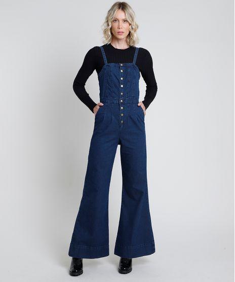 Macacao-Jeans-Feminino-Pantalona-com-Bolsos-Alca-Fina-Azul-Escuro-9889642-Azul_Escuro_1