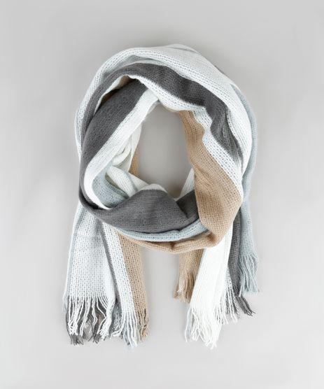 Cachecol-Feminino-Listrado-com-Franjas-Off-White-9834499-Off_White_1