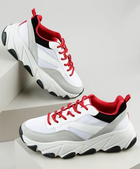 Tenis-Feminino-Oneself-Sneaker-Chunky-com-Recortes-Branco-9907572-Branco_1
