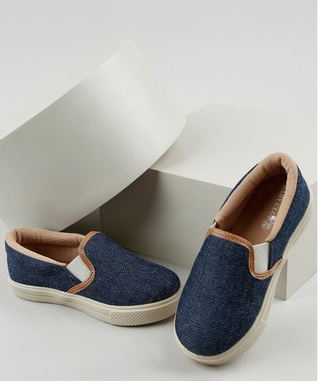 Tenis-Jeans-Infantil-Baby-Club-Slip-On-Azul-Escuro-9785685-Azul_Escuro_1