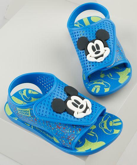 Papete-Infantil-Ipanema-Mickey-Momentos-Disney-com-Velcro-Azul-9925116-Azul_1