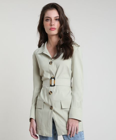 Casaco-Trench-Coat-Feminino-Mindset-com-Cinto-e-Bolsos-Verde-Claro-9632552-Verde_Claro_1
