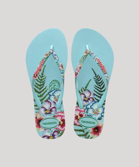 Chinelo-Feminino-Havaianas-Slim-Sensation-Estampado-Floral-Azul-Claro-9917876-Azul_Claro_1