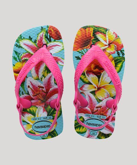 Chinelo-Infantil-Havaianas-New-Baby-Chic-Estampado-Floral-com-Elastico-Azul-Claro-9918391-Azul_Claro_1