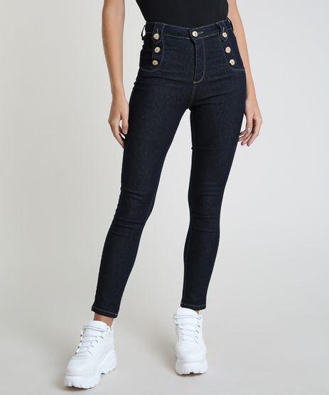 Calca-Jeans-Feminina-Sawary-Cigarrete-Heart-Cintura-Alta-Azul-Escuro-9914202-Azul_Escuro_1
