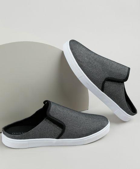 Tenis-Jeans-Slip-On-Mule-Masculino-Oneself-Preto-9924377-Preto_1